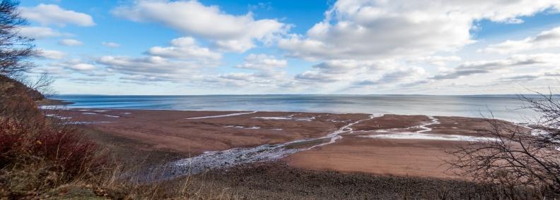 Blomidon Provincial Park Coastline