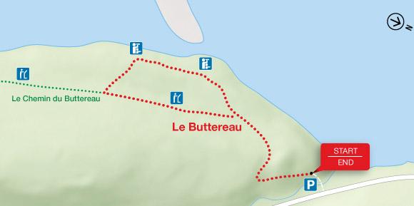 Le Buttereau Map