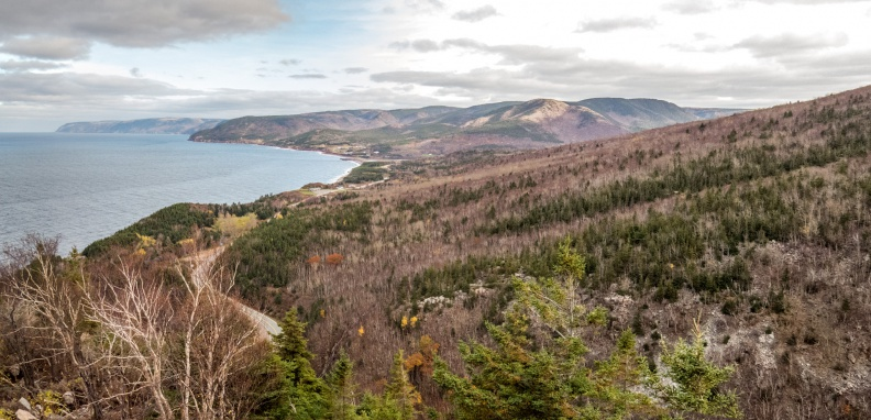 Cabot Trail Coastline